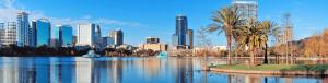 City of Orlando skyline